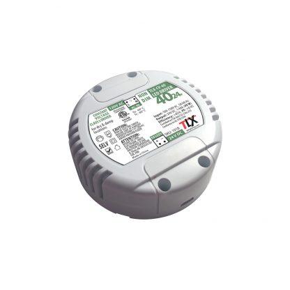 40w Puck Driver for LED Strip, 24V