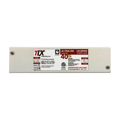 40w Junction Box Driver for LED Strip, 12V