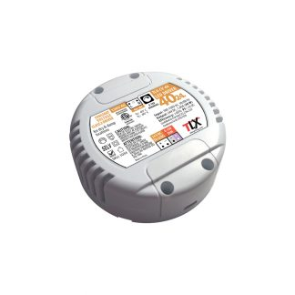 40w Puck Driver for LED Strip, 24V