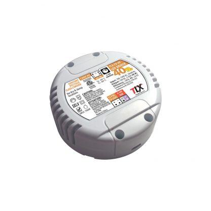 40w Puck Driver for LED Strip, 12V